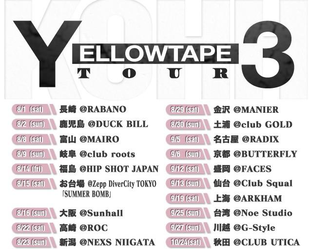 "KOHH ""Y3 TOUR"""